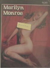 Marilyn Monroe LP Rare Recordings 1948 - 1962