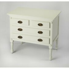 Butler Easterbrook White Drawer Chest, White - 9306288