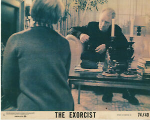 THE EXORCIST  (1974) • 8X10 LOBBY CARD #4 • Max Von Sydow, Ellen Burstyn