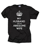 My Husband Has An Awesome Wife T-Shirt Gift For Husband Tee Shirt