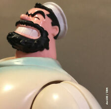 loose Mezco 2002 Popeye Series 2 complete sailor navy Bluto figure