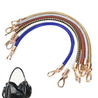 Leathers Braided Purse Handle Shoulder Bags Belt Replacements Handbag Strap DIY