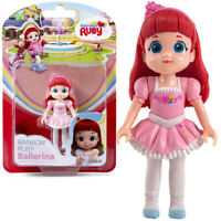 Rainbow Ruby Doll Ruby Ballerina Toy Action Figurine