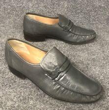 Vintage Creazione Michelangelo  70's Platform Heel Leather Disco Shoes Mens 42.5