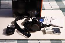 Sony Alpha A7 Digital SLR Camera 24 megapixel. Mint in box - extras