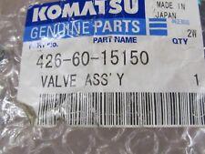 KOMATSU 426-60-15150 VALVE ASSEMBLY