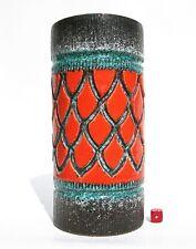 Italian Vase Mid Century Modernist Fat Lava Era Fratelli Fanciullacci Style 25cm