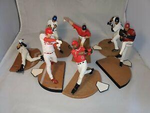 McFarlane MLB Loose LOT of 7 Baseball Figures Great for Customs