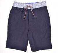 TOMMY HILFIGER Men's Jersey Shorts, Navy Blue, XS or S