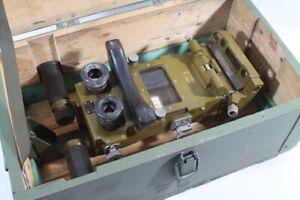 1 x altes Periskop Winkelfernrohr Winkelfernglas Optik Panzer Zieloptik Kiste