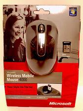 Microsoft Wireless Mobile 4000 BlueTrack Scroll Mouse, Black
