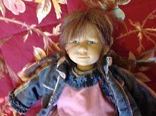 Annette Himstedt Cloth One of a Kind Artist Dolls