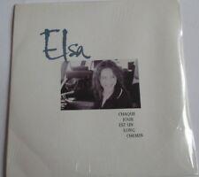 """ELSA LUNGHINI - CD SINGLE PROMO """"CHAQUE JOUR EST UN LONG CHEMIN"""""""