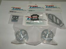 Losi Mini-T Gpm Aluminum Ft Bumper, Wheel, Rear Pivot Block, Batt Hold Down