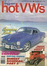 DUNE BUGGIES & HOT VW'S 1983 NOV - CUSTOM CONSOLE, NEW GOLF & RABBIT