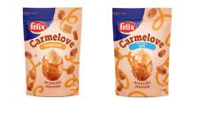 FELIX CARMELOVE CARAMEL PEANUTS - 160G - CRISPY CRUNCH PEANUTS SWEET SALTY NUTS