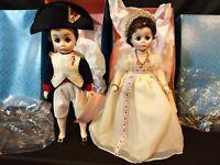 2! New Madame Alexander Dolls Napoleon & Josephine 1330 & 1335 Portraits History
