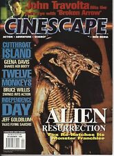 Cinescape Magazine December 1995 Alien Resurrection ID4