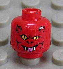 LEGO - Kopf Teufel rot / Teufels - Gesicht / Red Head Devil 3626bpb0389 NEUWARE