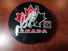 MARIO LEMIEUX  Pittsburgh Penguins - Signed TEAM CANADA PUCK - GAI GA GLOBAL COA