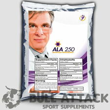 250 Kapseln  Alpha Liponsäure á 250mg ALA Antioxidantien  - Anti Aging