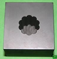 Optic Mold Graphite Lampwork Glass Cane 10pt 7/8x1deep