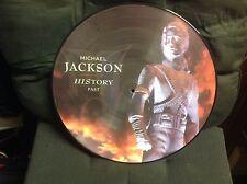 Michael Jackson  (History Past )Vinyl Picture Disc LP Rare