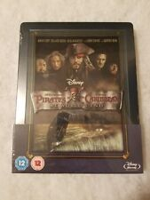 Pirates of the Caribbean at Worlds End STEELBOOK Blu Ray UK Disney SEALED