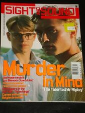 Sight And Sound magazine 2000, Matt Damon, Jude Law, Talented Mr. Ripley, Rare