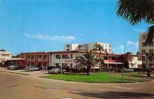 Venice Florida 1960s Postcard Sunset Apartment Hotel