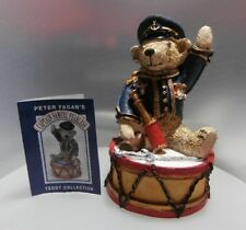 "COLOUR BOX  BEAR BY PETER FAGAN - ""CAPTAIN S FEARLESS BEAR ""TC009  MINT IN BOX"
