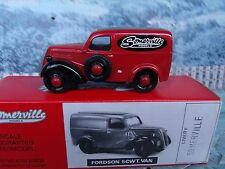 1/43 Somerville  (England) Fordson 5 cwt van white metal