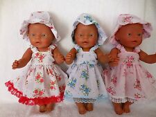 "BABY BORN 17""  DOLLS CLOTHES  SUMMER  OUTFIT"