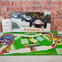 Vintage Waddingtons Formula 1 One Board Game 1964 Car Racing Game 100% Complete