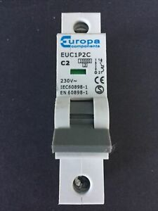 Europa EUC1P2C C2 2A MCB