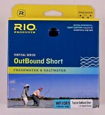Rio OutBound Short WF10F/I Fly Line Blue Ivory Free Fast Shipping 6-21837