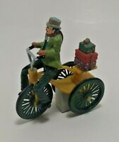 Mr. Christmas Holiday In Motion Magnetic Moving Victorian Bicyclist 1996