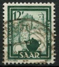 Saar 1949-51 SG#272, 12f Pottery Definitive Used #A81236