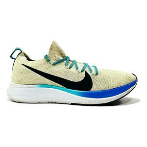 Nike Womens Zoom Fly Flyknit AR4562-201 Beige Running Shoes Lace Up Size 8 US