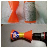 Fishing Tackle LINEOFF Worlds Best Fishing Reel Line Remover Winder Spooler LTGr