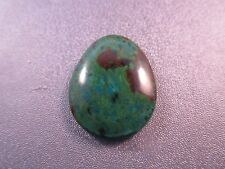 Parrot Wing Chrysocolla Cabochon 1pc