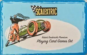 Scalextric Robert Frederick's Premium Playing Card Games Set Tin Die 5 Rare