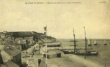 CPA - France - (14) Calvados - Port-en-Bessin - L'Entrée des Bassins et le Quai