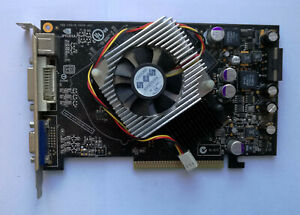 Inno3D nVidia GeForce 6600GT 128MB AGP VGA Card  - Test OK!