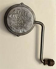1916 Safety Can Opener Julius Cayo Gary Indiana Patented 1,189,058 6/27/1916