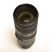 USATO-Nikon 70-200mm 2.8G VR II Lens + Hoya HD/Filtro UV
