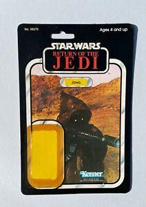 Star Wars Vintage Jawa Card Back 77Bk / Cut Bubble
