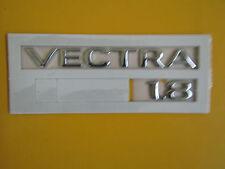 Schriftzug Emblem VECTRA 1.8  chrom Vectra B ORIGINAL OPEL 177221