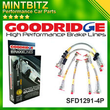 Ford Focus ST170 2001-2003 Zinc Plated Goodridge Brake Hoses SFD1291-6P