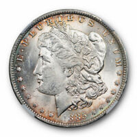 1885 O Morgan Dollar $1 NGC MS 63 Uncirculated Toned Original